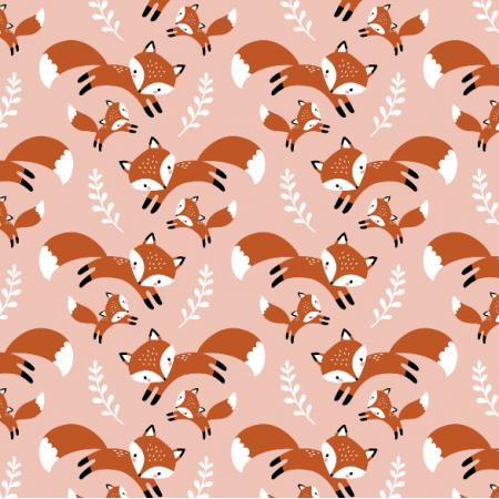 16561 | cute fox family // blush