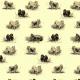 Fabric 16569   PSY SZPICE MINIATUROWE - TOY SPITZ DOGS