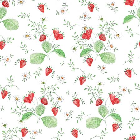 Fabric 16617 | truskaweczki