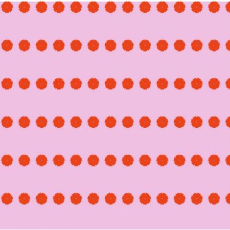 Tkanina 16671 | landrynkowe kwiaty