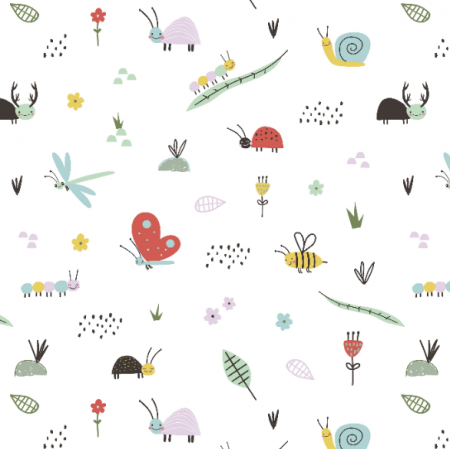 Fabric 16740 | Cute insects0