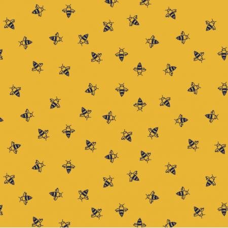 Fabric 16799 | Pszczoły