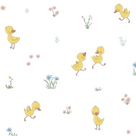 Fabric 16810   cute little duckling0