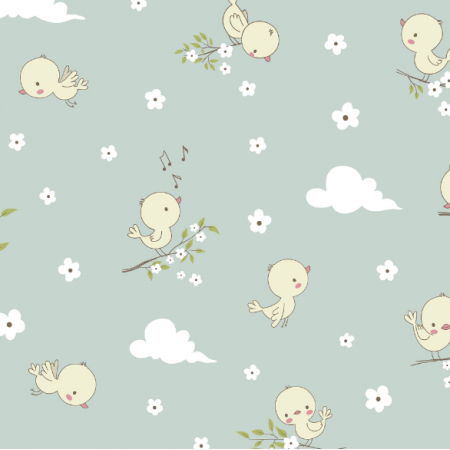 Fabric 16812 | CutE little birds0