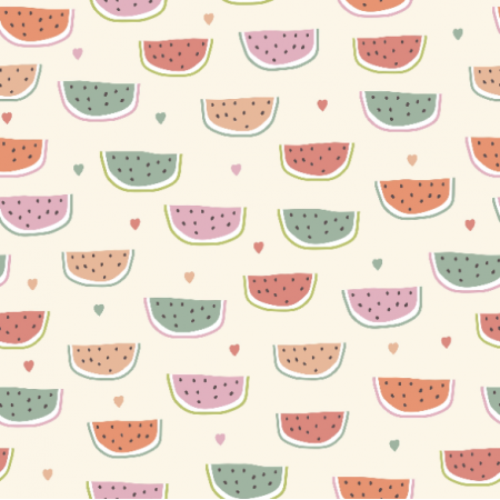 Fabric 16817 | watermelons in scandinavian style0