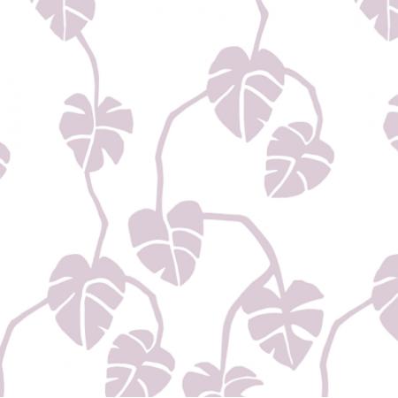 Fabric 16849 | mostera - dirt pink1