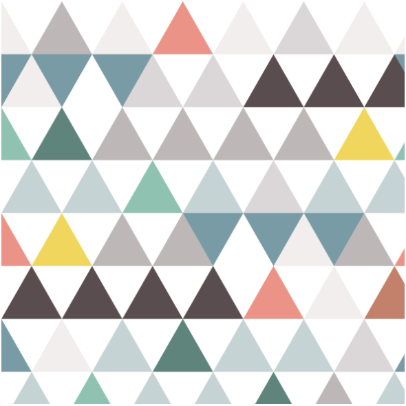 Fabric 16856 | triangles mini