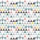 Fabric 16856 | triangles mini
