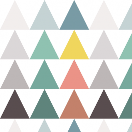Fabric  | triangle arrows