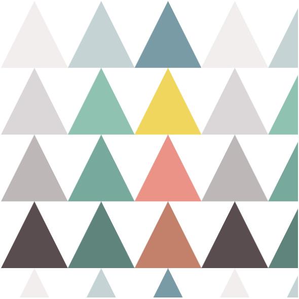 Fabric  | triangle arrows