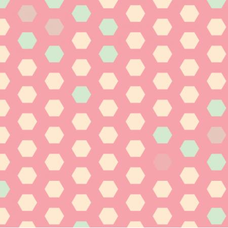 Fabric 16882   Cukierkowy plaster miodu