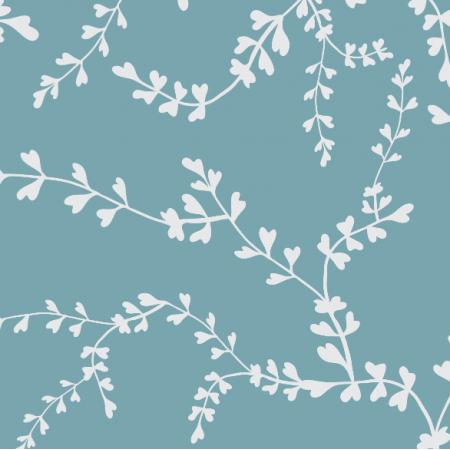 Fabric 16887 | biały szczawik