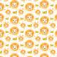 Fabric 16912 | Akwarelowe_lwy_WHITE