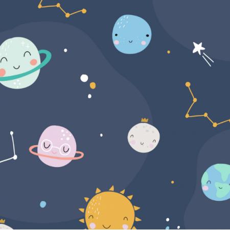 Fabric 17151 | Planety