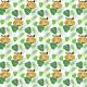 Fabric 17179   Tiger1 biale tło