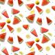 Fabric 17198 | arbuz&cytryna/watermelon&lemon
