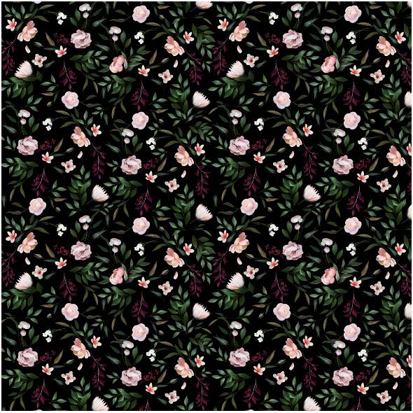 Fabric 17221   secret garden