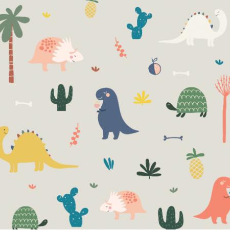 Fabric 17270   Dinozaury