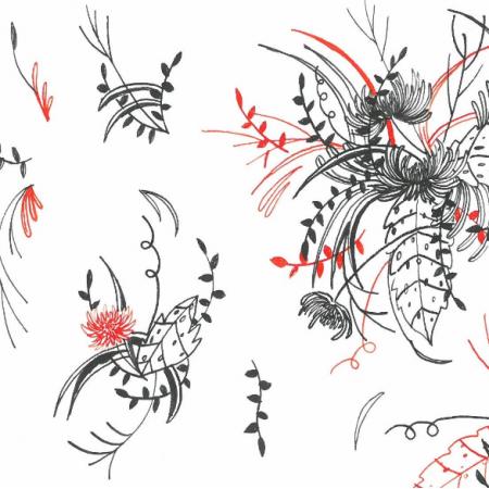 Fabric 17340 | Chryzantema 0