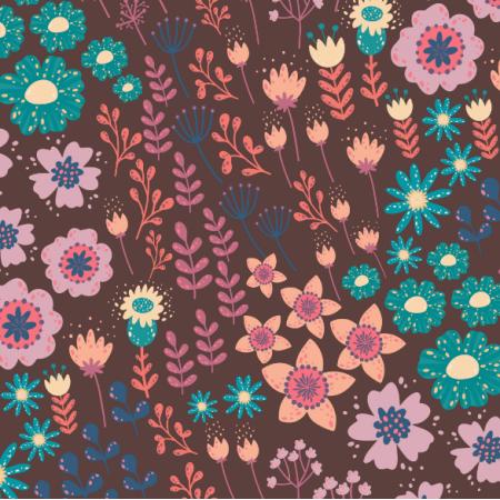 Tkanina 17342 | flowers