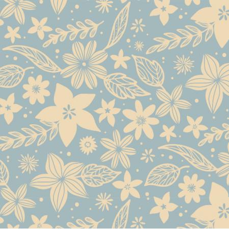 Fabric 17343 | flowers