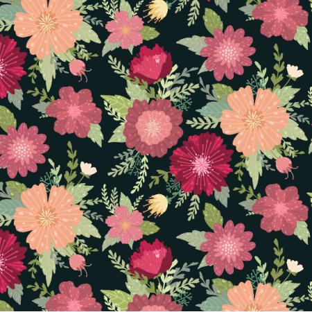 Tkanina 17344 | flowers