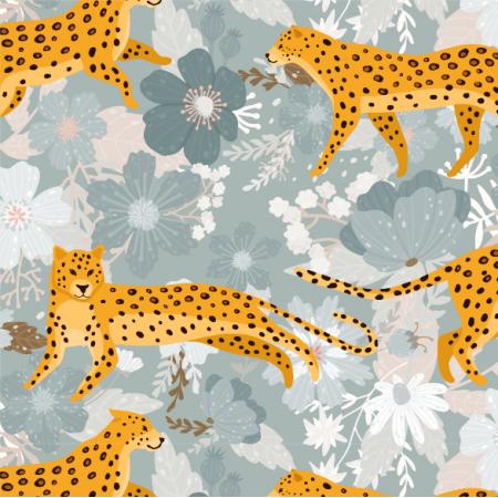 Tkanina 17346 | leopard