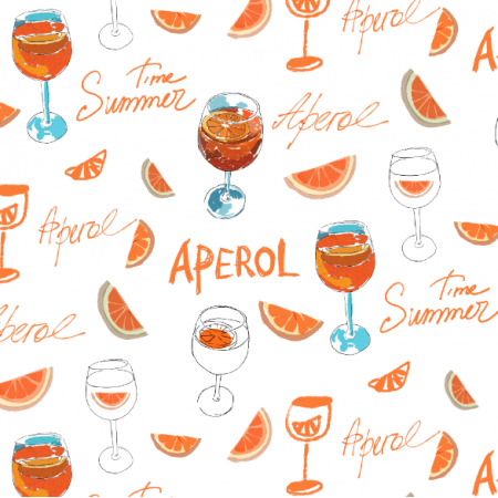 Fabric 17360 | Aperol