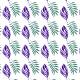 Fabric 17393 | liście