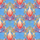 Fabric 17449   ORIENTAL - seria 3