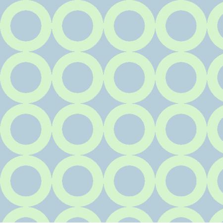 Fabric 17495 | kółka, niebieski-zielony
