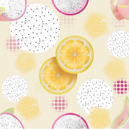 Fabric 17533 | lemon