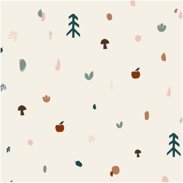 Tkanina 17554 | apple orchard