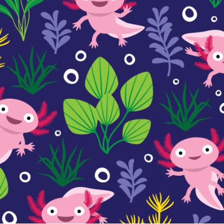 Fabric 17664 | Axolotl
