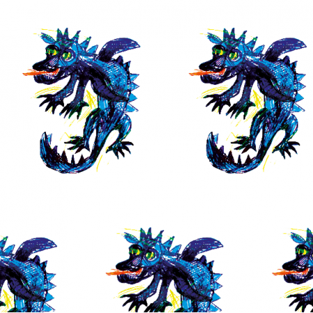 Fabric 17676 | Dragon 2
