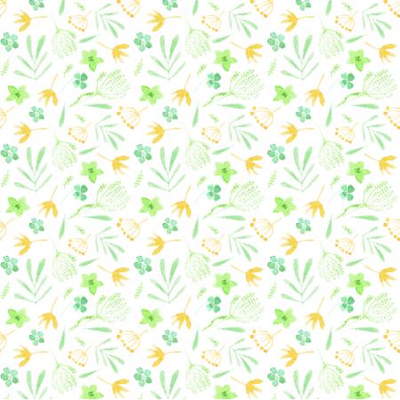 Fabric 17705 | zielona fala