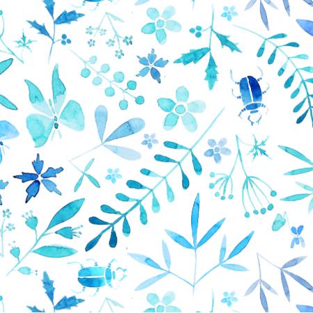Fabric 17715 | coś niebieskiego