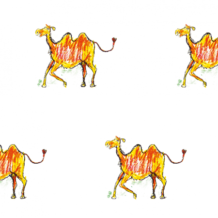 Fabric 17738 | Camel2 pattern for kids