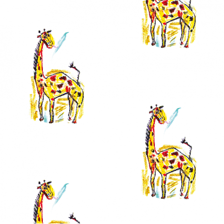 Fabric 17741 | giraffe 1 pattern for kids