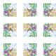 Fabric 17753 | Paradise bird 3 watercolour pattern