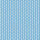 Tkanina 1936 | hearts on blue