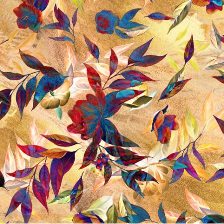 Fabric 17784 | Golden Fantasy