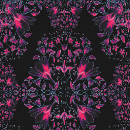 Fabric 17829 | Flowers inspirations - series 3