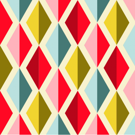Fabric 1945 | geometric