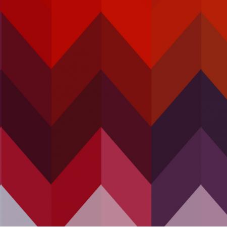 Fabric 17865 | ORANGE ZIG ZAG