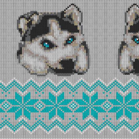 Fabric 17888 | winter husky