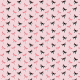 Tkanina 17952 | Liski Różowe