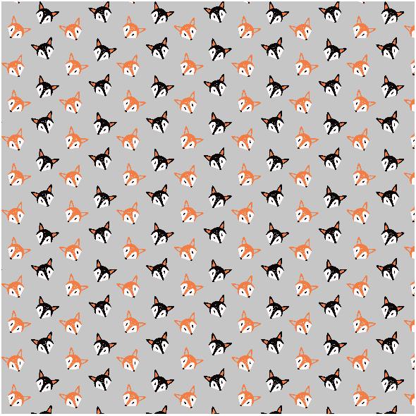 Fabric 17953 | Liski Szare