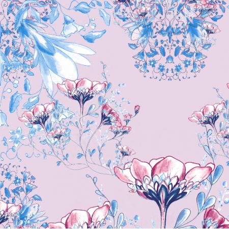 Fabric 17958 | Flowers inspirations - seria 4