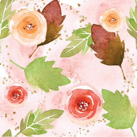 18014 | Kwiaty i liscie
